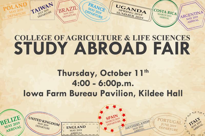CALS Study Abroad Fair