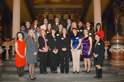 ISU students at Research in the Capitol