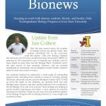 Bionews, Vol. 2, No. 1, Summer 2014