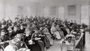 Botany class circa 1890