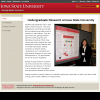 Undergraduate research at ISU